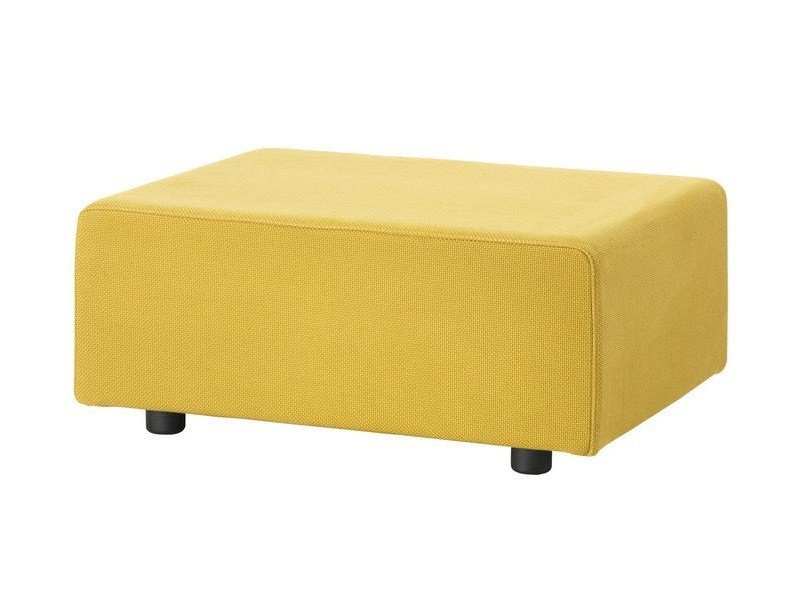 Fabric footstool POLDER OTTOMAN by Vitra