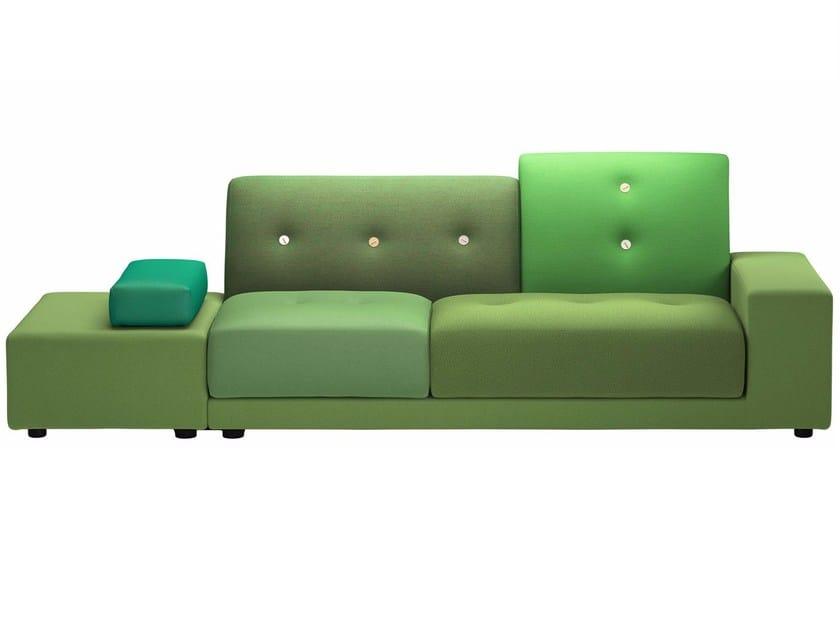 Fabric sofa POLDER SOFA by Vitra