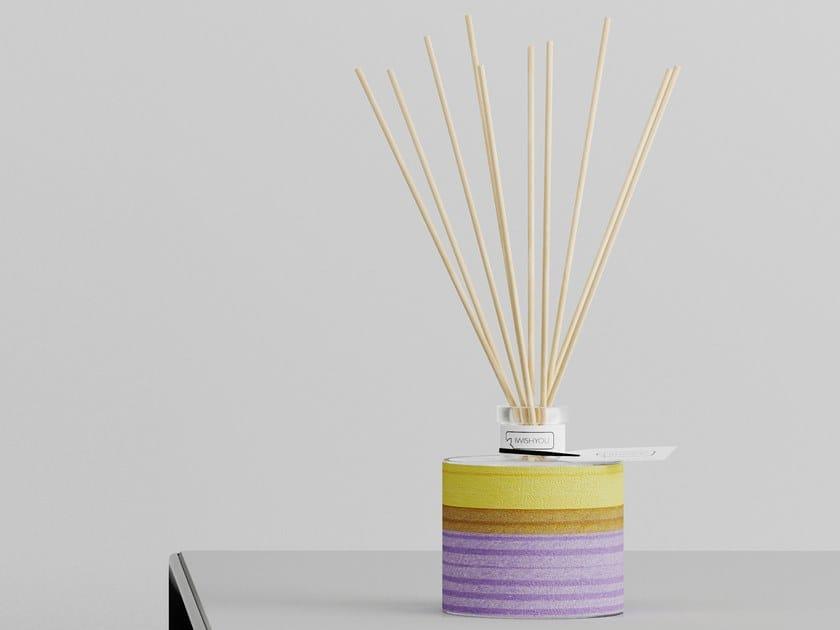 Natural stone Air freshener dispenser POLICROM Prestige - Tabacco e Agrumi by IWISHYOU