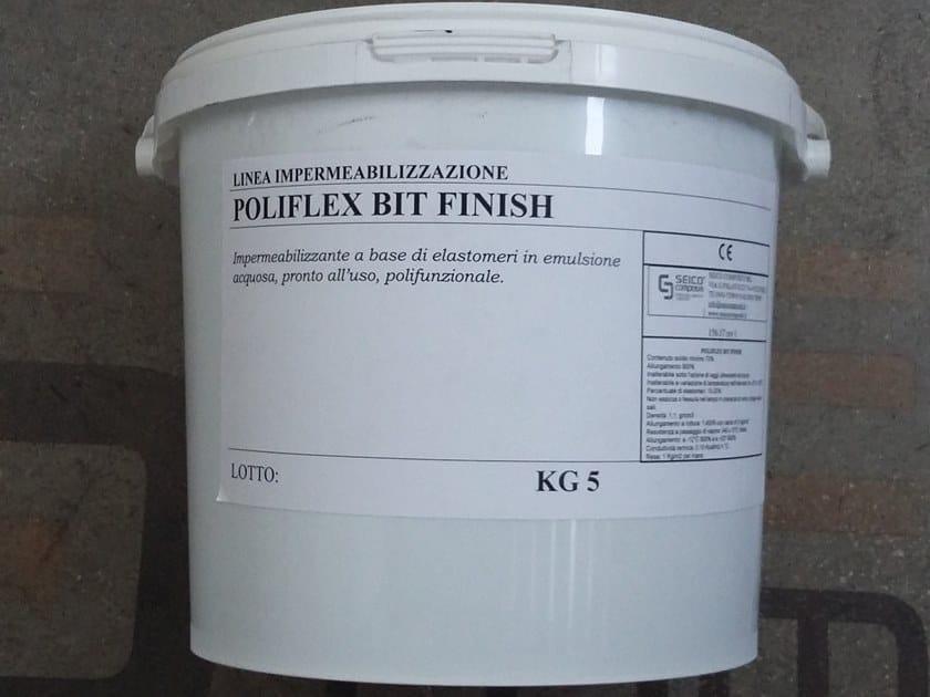 Liquid waterproofing membrane POLIFLEX BIT FINISH® by Seico Compositi