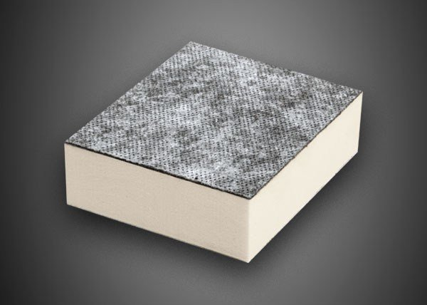 Synthetic material thermal insulation panel POLIISO SB HD | Polyurethane foam thermal insulation panel by Ediltec