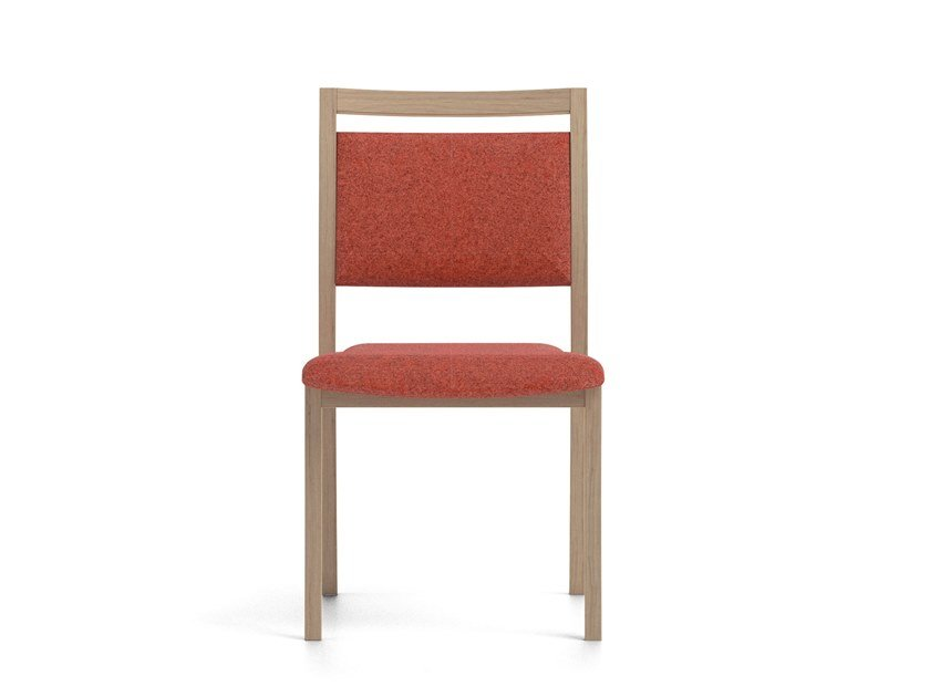 Stackable fabric chair POLKA | HEALTH & CARE | Fabric chair by PIAVAL