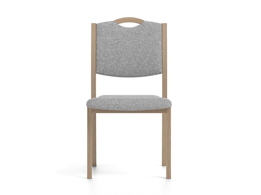 Stackable fabric chair POLKA | HEALTH & CARE | Chair by PIAVAL