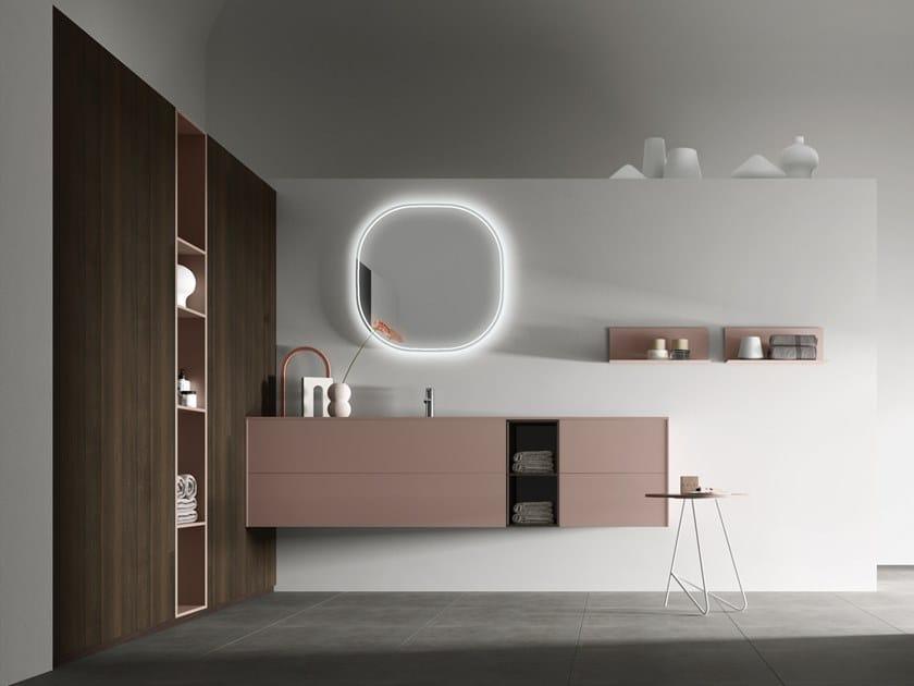 Modular bathroom system POLLOCK - COMPOSIZIONE 66 by Arcom