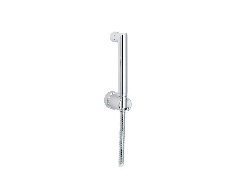 Contemporary style wall-mounted handshower with hose with bracket POLO CLUB | Handshower with bracket by rvb