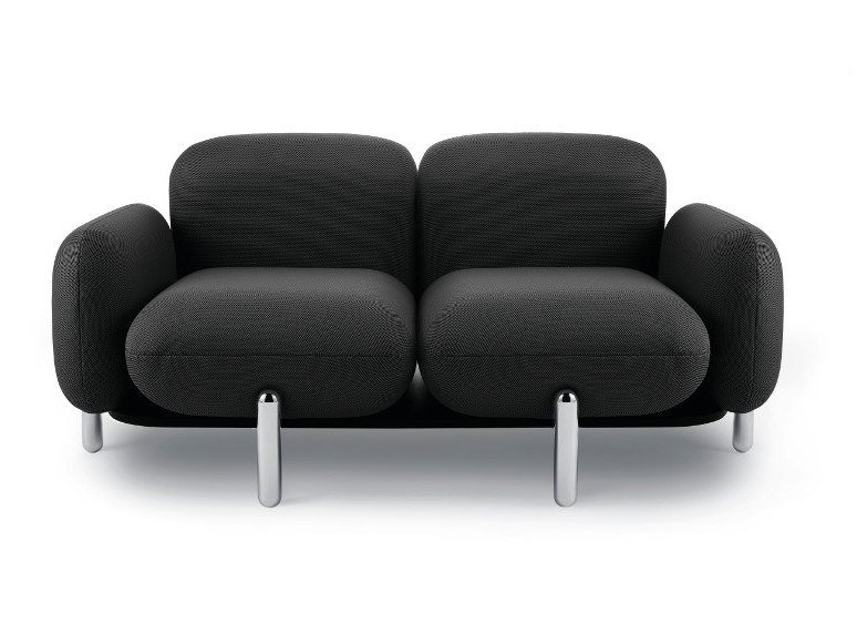 2 seater fabric sofa POLO by Riluc