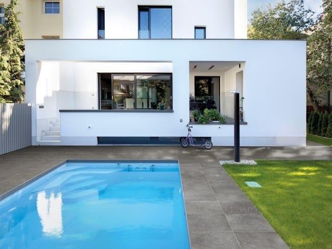 Outdoor floor tiles / garden paths POMPEI by GRANULATI ZANDOBBIO