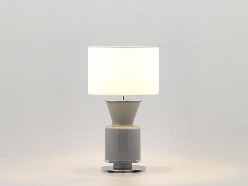Stained Glass Table Lamp With Fixed Arm PONN | Stained Glass Table Lamp By  Aromas Del