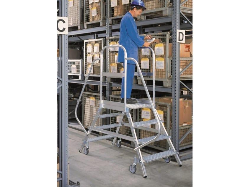 Aluminium heavy duty ladder PONTE by SVELT