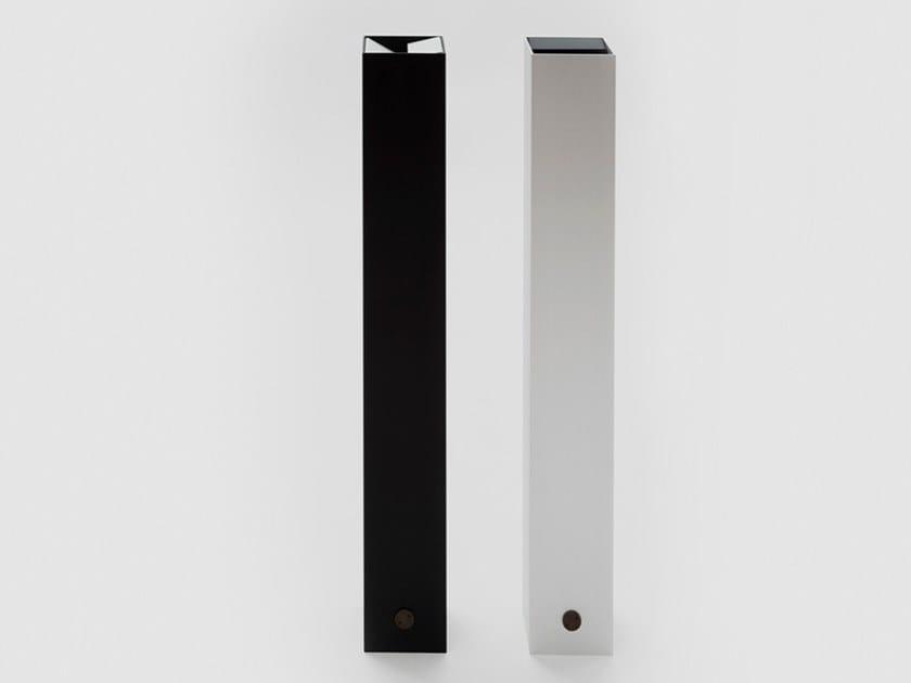 Posacenere da terra in alluminio e ferro PONZA by Danese Milano