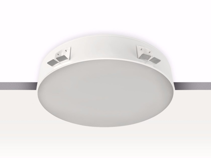 Direct light recessed Lamp for false ceiling POOL_C by Linea Light Group
