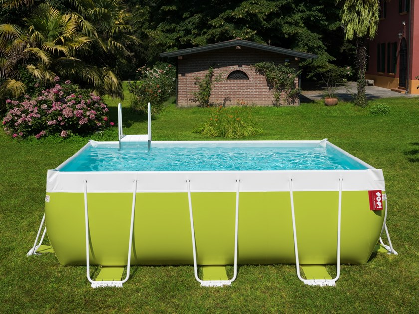 Above-Ground swimming pool POP! By Piscine Laghetto