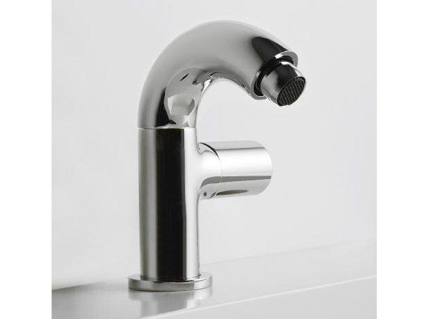 Countertop single handle bidet mixer POP | Bidet mixer by ZAZZERI