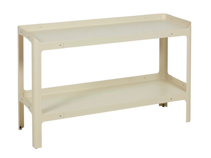 Double-sided metal shelving unit POP H500 L by Tolix