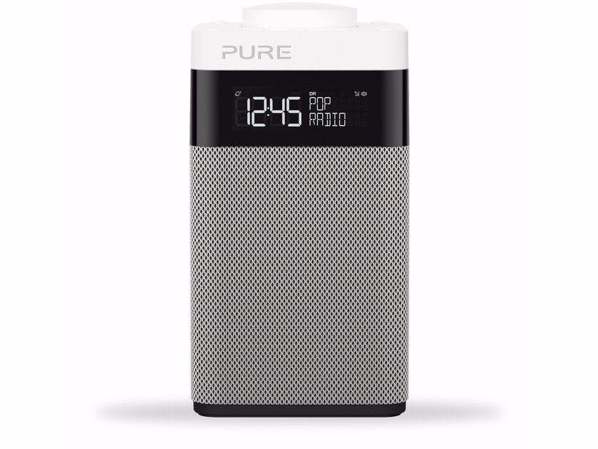 Radio with rechargeable battery with alarm clock POP MIDI by PURE