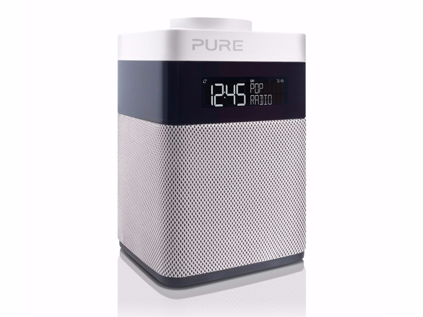 Radio with rechargeable battery with alarm clock POP MINI by PURE