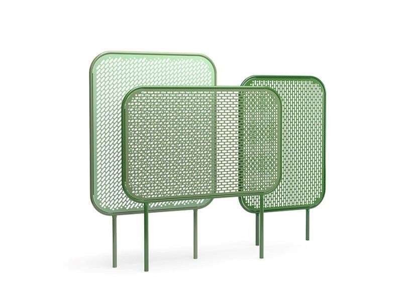 Self-supporting powder coated steel vertical gardening trellis POP | Vertical gardening trellis by VESTRE
