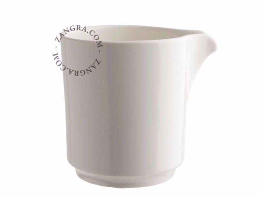 Porcelain milk pot PORCELAIN MILK JUG by ZANGRA