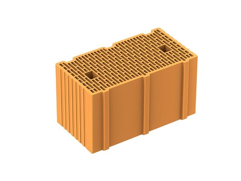 Loadbearing clay block POROTON P700 TS by Fornaci Laterizi Danesi
