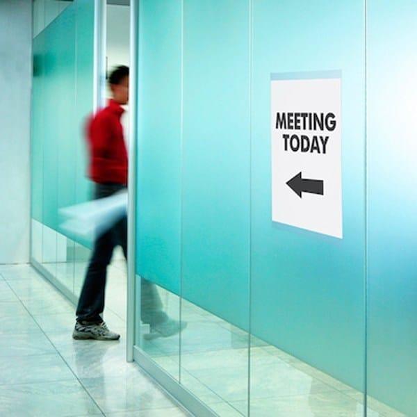 POST UP a vetro per uffici