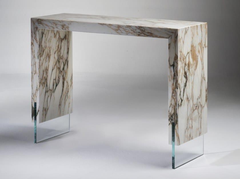 Consolle rettangolare in marmo PORTA ROMANA by Pasut Design