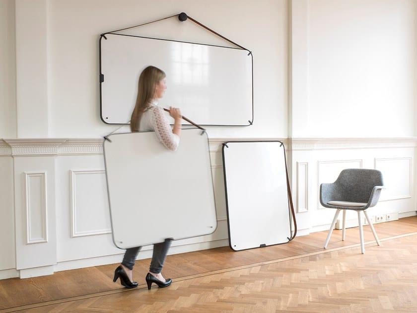 Pareti Lavagna Magnetica : Lavagna per ufficio magnetica a parete portable by chameleon