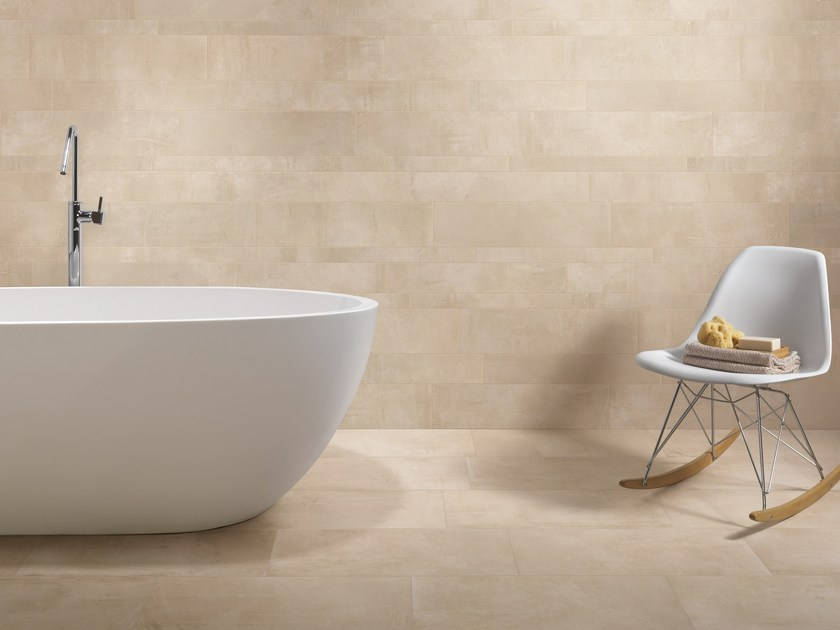 Porcelain stoneware wall/floor tiles with concrete effect PORTLAND 2.0 HELEN by CERAMICA FONDOVALLE