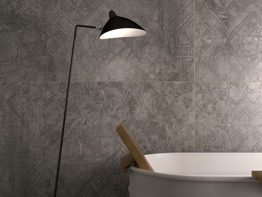 Porcelain stoneware wall/floor tiles with concrete effect PORTLAND 3.0 TABOR MOOD by CERAMICA FONDOVALLE