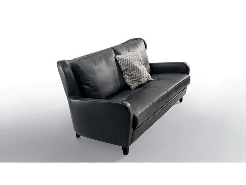 3 seater leather sofa PORTOFINO | 3 seater sofa by Marac
