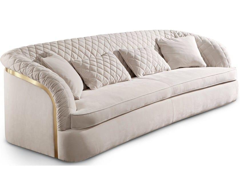 3 seater fabric sofa PORTOFINO   Sofa by Cantori
