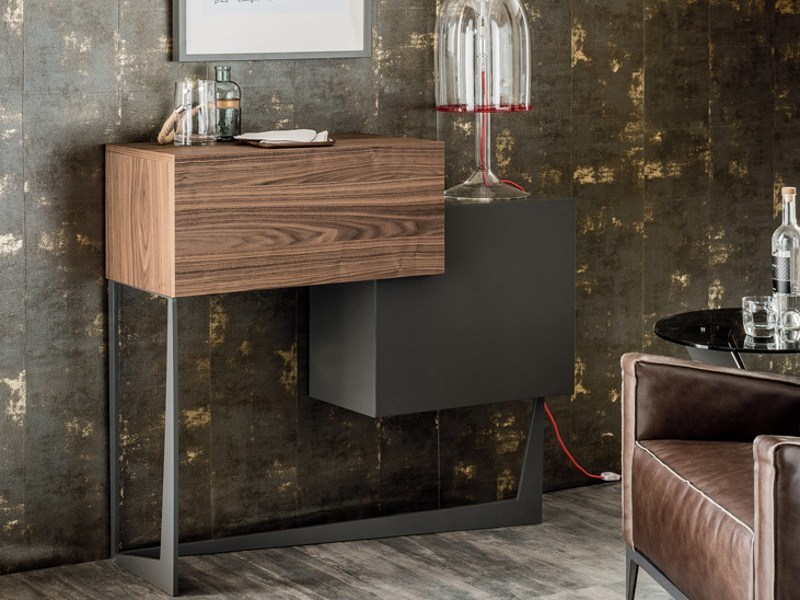 Wooden bar cabinet PORTOS by Cattelan Italia