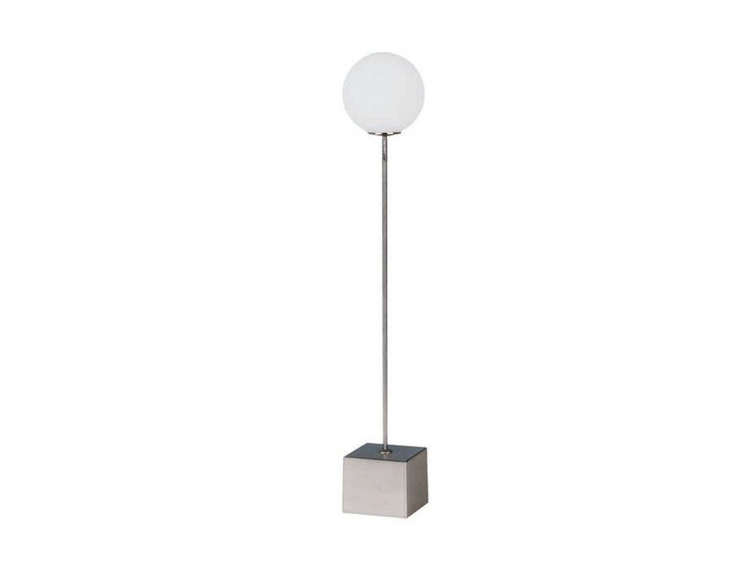 Metal table lamp with fixed arm POST by Aromas del Campo
