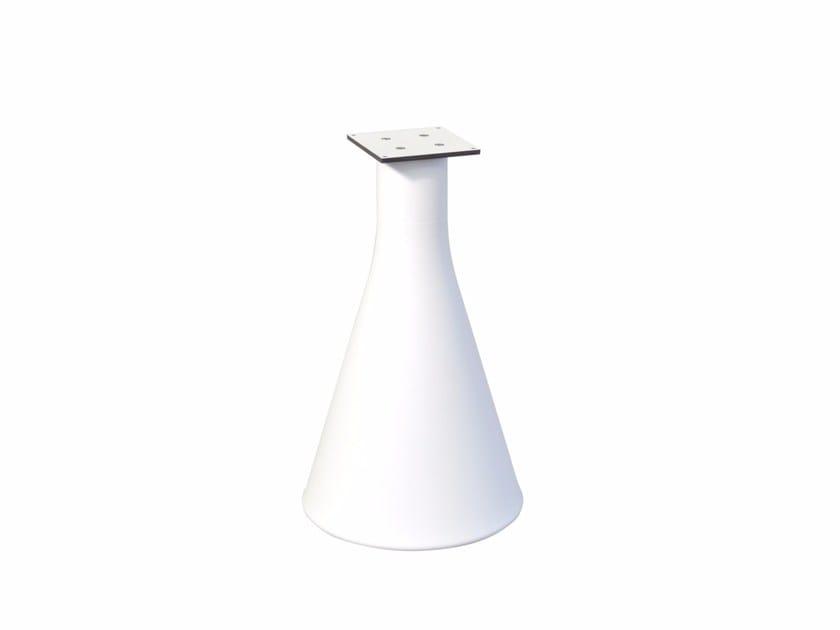 Polyethylene table base POT | Table base by calma