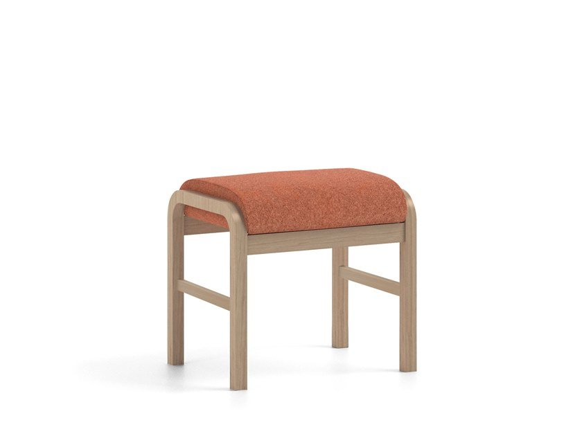 POUF HEALTH CARE Footstool By PIAVAL Simple Pouf On Wheels