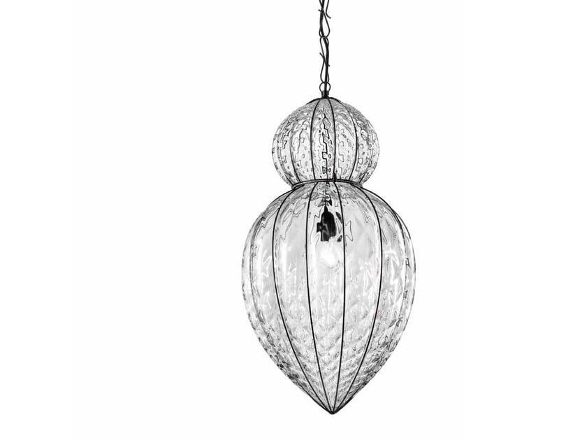 Murano glass pendant lamp POVEGLIA MS 423 by Siru