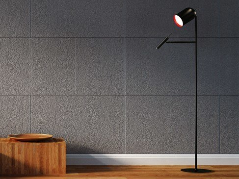 Halogen floor lamp powell by marzais créations