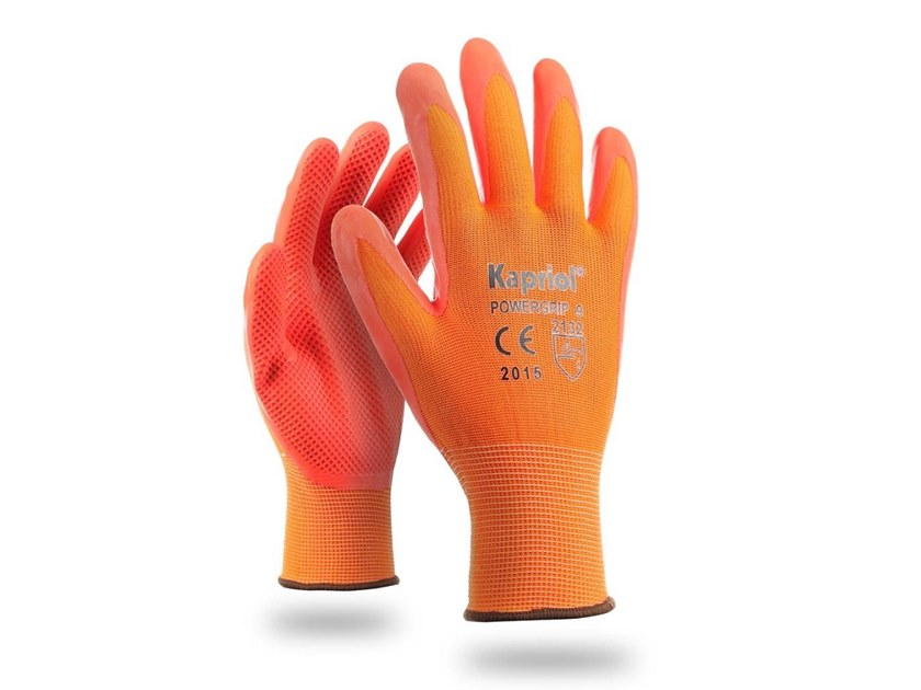 Personal protective equipment POWER GRIP ARANCIO by KAPRIOL