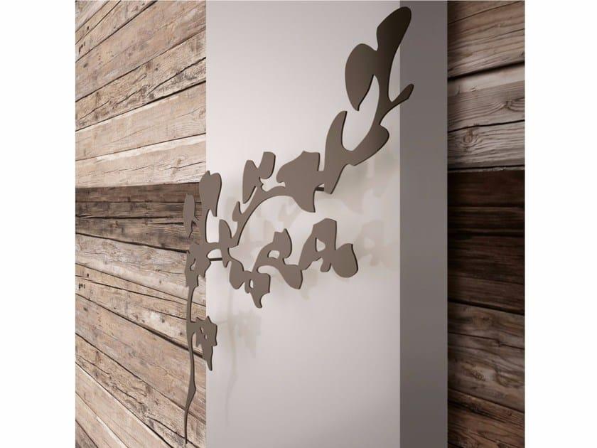 Wall-mounted decorative radiator POWER NATURE RIBES by K8 Radiatori
