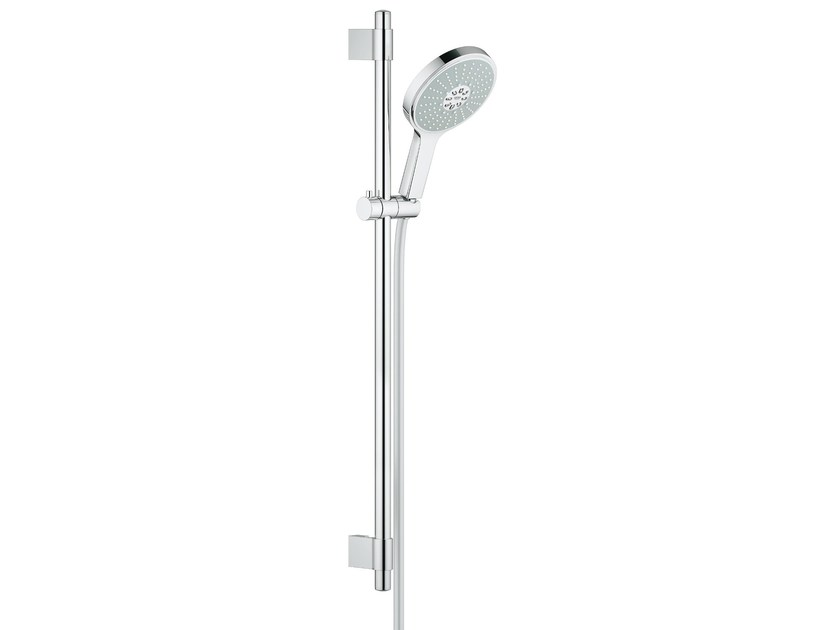 Shower wallbar with hand shower POWER&SOUL™ | Shower wallbar by Grohe