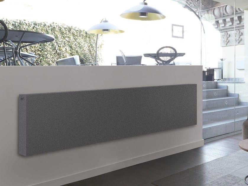 Wall-mounted panel radiator POWER WALL by K8 Radiatori