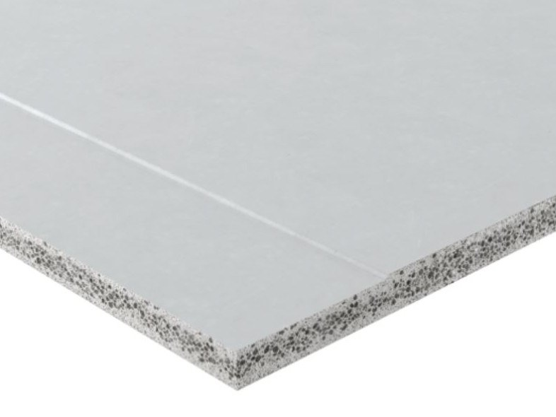Sandwich panel for partition walls POWERPANEL H2O by Fermacell