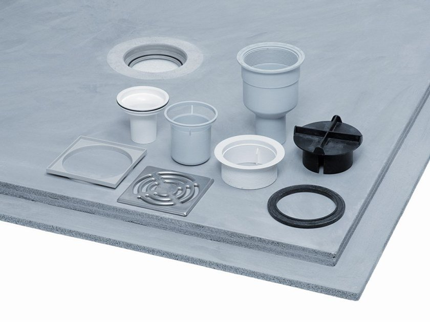 Square shower tray POWERPANEL TE | Shower tray by Fermacell