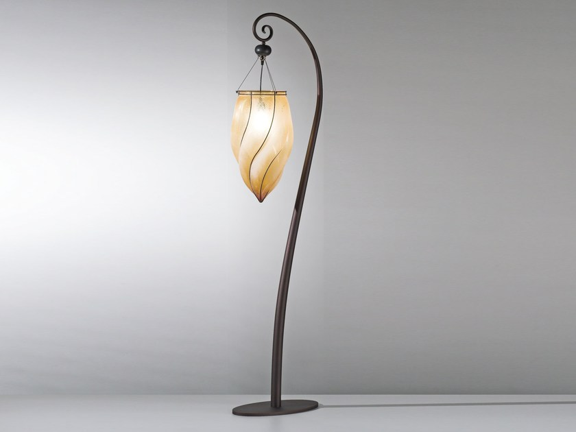 Murano glass floor lamp POZZO MP 119 by Siru
