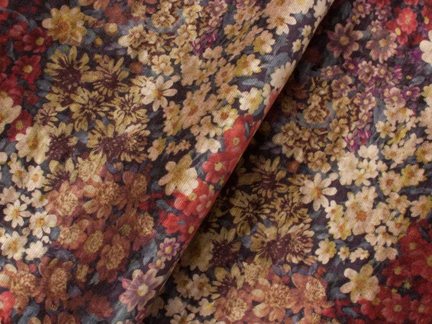 Viscose fabric with floral pattern PRADO by Equipo DRT