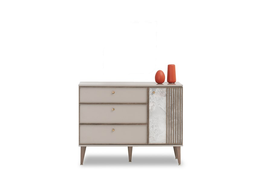 Lacquered wooden chest of drawers PRAGA | Chest of drawers by Enza Home