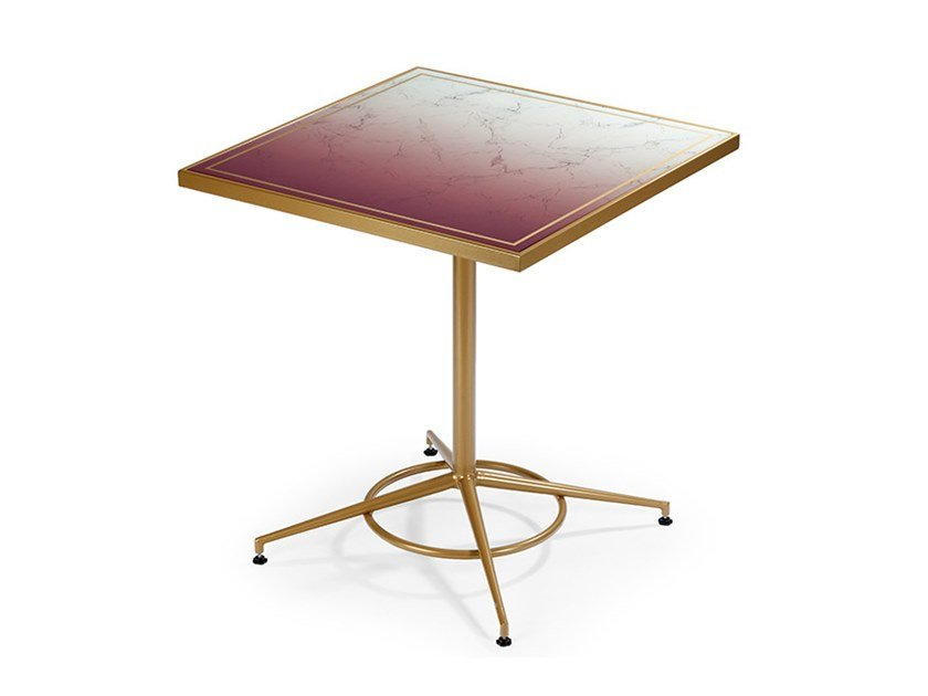Square table PRAGA by Mambo Unlimited Ideas