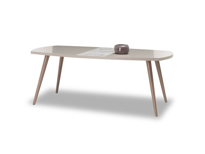 Rectangular wooden table PRAGA   Table by Enza Home