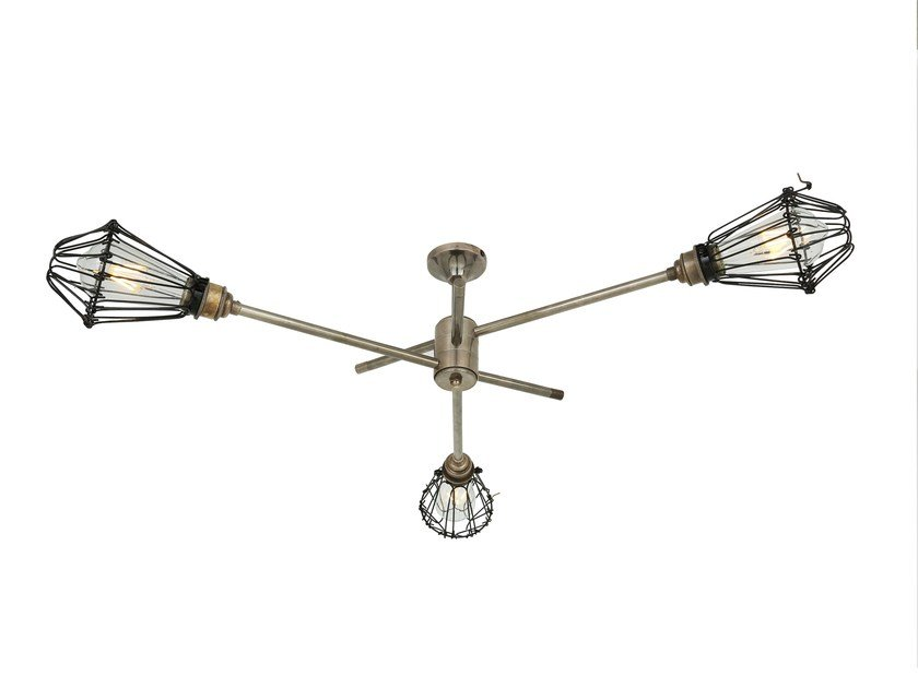 Swivel brass chandelier PRAIA | Chandelier by Mullan Lighting