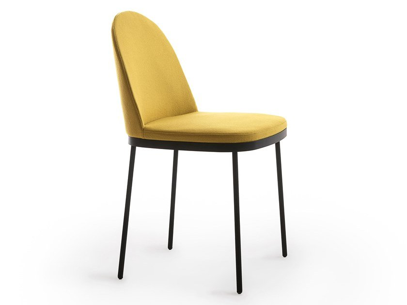 Upholstered chair PRECIOUS | Chair by Moroso