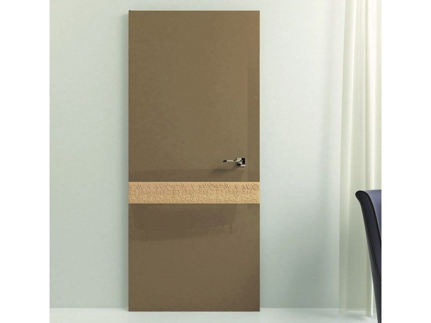 Hinged wooden door PRECIOUS by Pail Serramenti